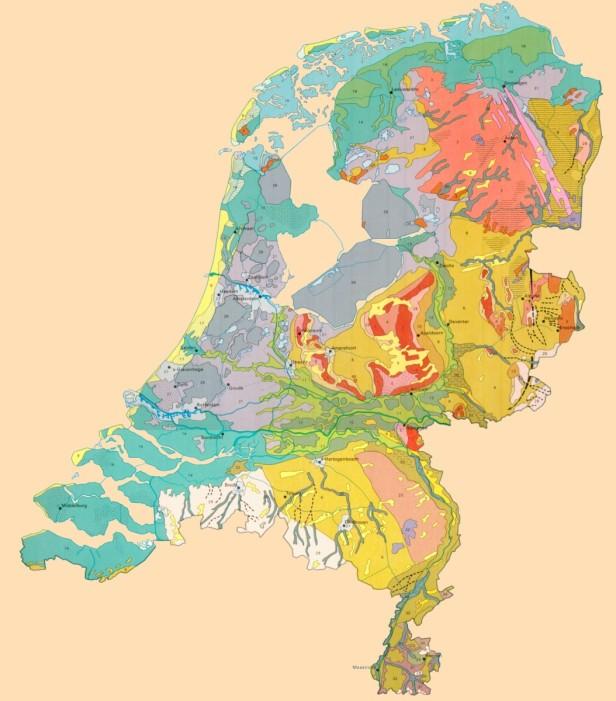 geomorfologische kaart
