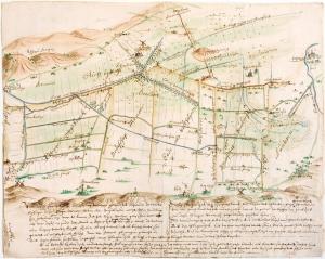 Het Binnenveld in 1655