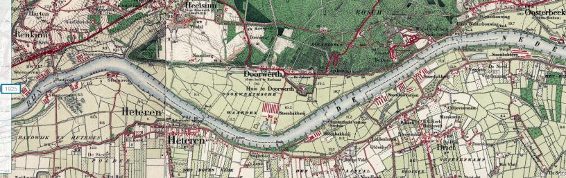 De Rijn bij Doorwerth