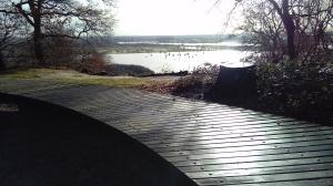 Uitzicht vanaf de ringwalburg.
