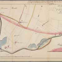 De Grebbedijk voor en na de overstroming van 1855