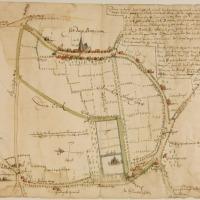 Bennekom in 1656: een oude weg