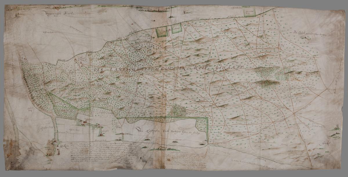 De Moft in 1649 (1): de contouren