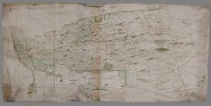 Kaart van het Moftbos uit 1649