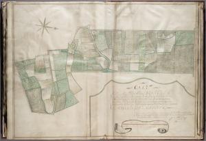 Polderkaart Binnenveld 18de eeuw