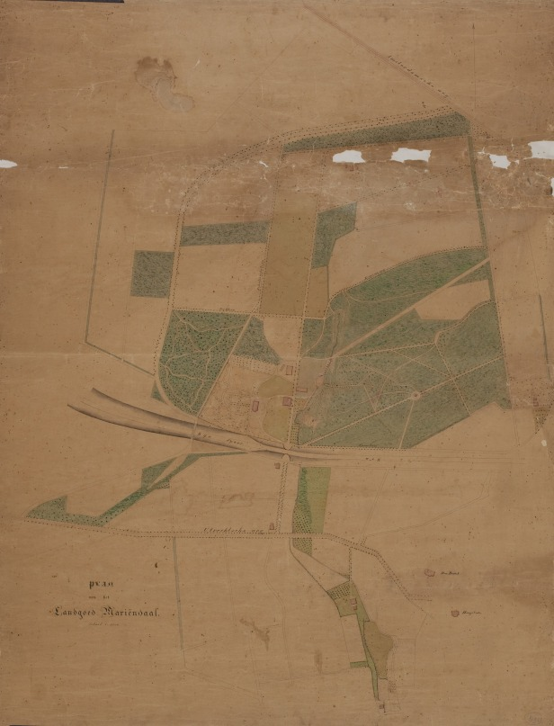 oude kaart Mariendaal