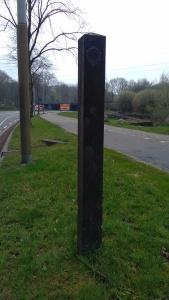 foto Slijpbeek grenspaal