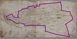 kaart 16 moft grenzen 1649