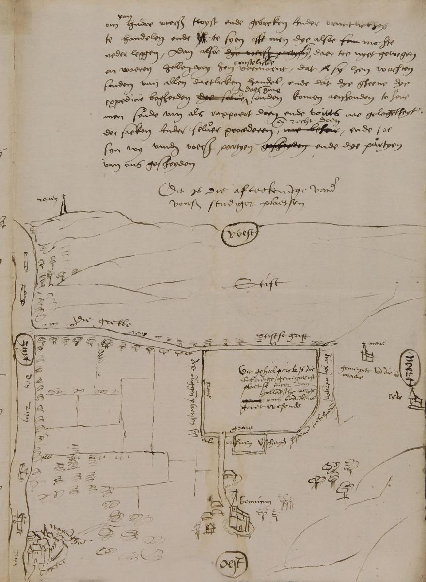 Bennekom in 1550