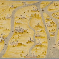 The Betuwe on old maps
