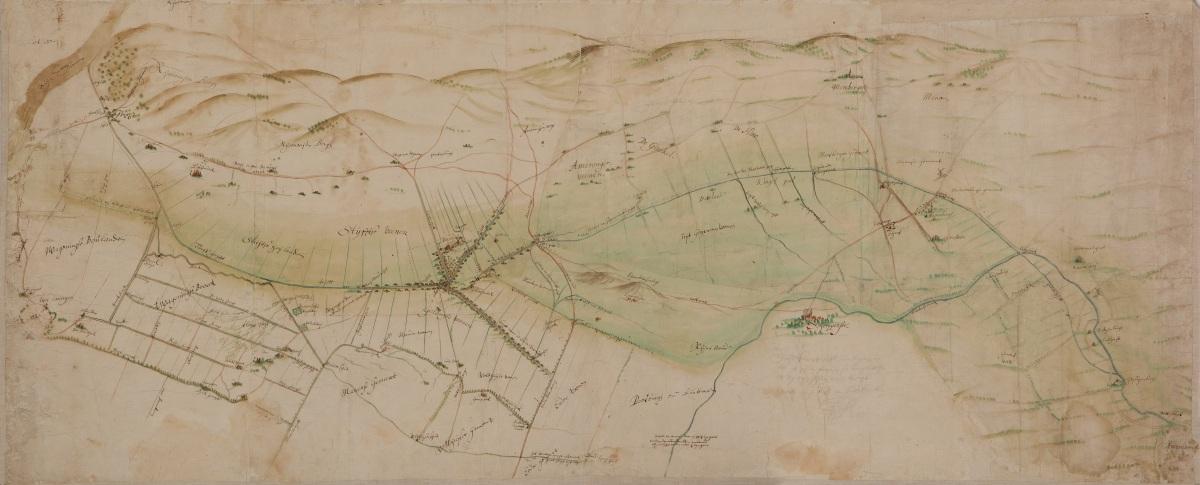 Het Binnenveld in 1628 (2): ruzie tussen Utrecht en Gelderland