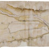 De Rijn in de 16de eeuw