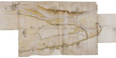 kaart Rijn en Leede