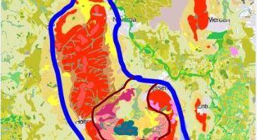 Geomorfologische kaart Sallandse heuvelrug