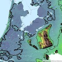 De bergen in midden Nederland