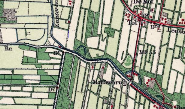 1902 schoonebeekse grift en lunterse beek