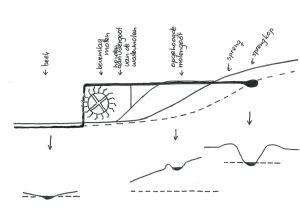 watermolen tekening