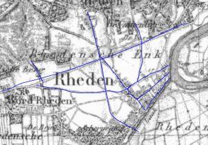 1845 rheden wegen