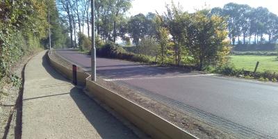 Paddenpassage bij Wageningen