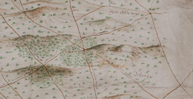 kaart 16 Geelkercken Moft