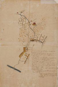 Kaart uit 1660