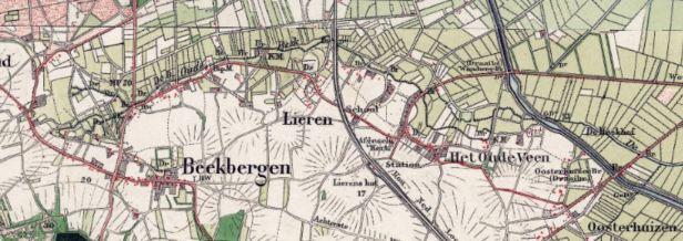 kaart 19 oudebeek