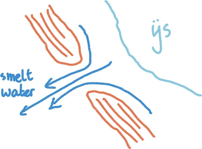 tekening doorbraakdal