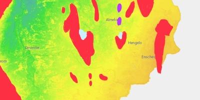 Ijstijdfenomenen in Twente en de Achterhoek