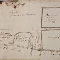 De Wageningse Berg in 1800 (2): de Zoomweg en de Scheidingslaan