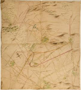 Kaart Kempenberg en Deelen