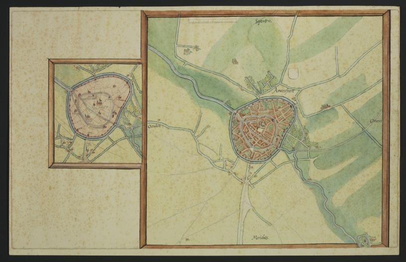 Amersfoort in de 16de eeuw