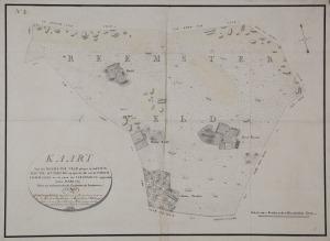 Kaart van Reemst uit 1809