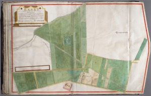 Polderkaart 1753 Binnenveld