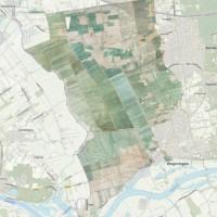 Unieke polderkaart van het Binnenveld