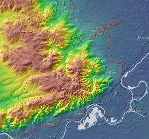 Puinwaaiers rond de Veluwe op het AHN