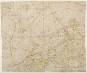 Kaart van Van Geelkercken