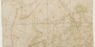Kaart van het Schependom Arnhem