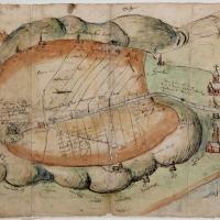 Het Binnenveld op oude kaarten