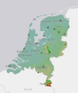toppen van Nederland