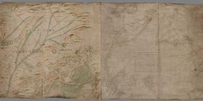 kaart van Van Geelkercken, 1650