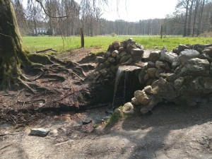 Waterval in de Warnsbornbeek