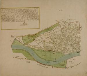 kaart Doorwerth Ruijsch