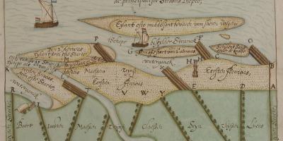 Het waterrecht, kaart Kempinck