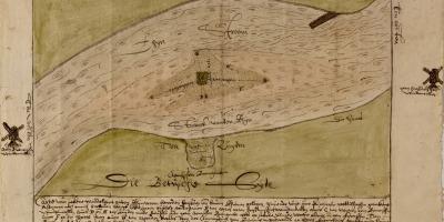kaart Kempinck Middelwaard