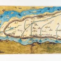 Land van Maas en Waal in 1544