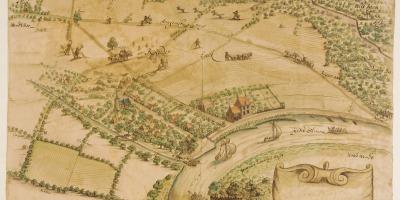 Kaart Rheden 1690